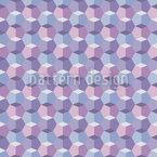 Kristallin Nahtloses Vektormuster