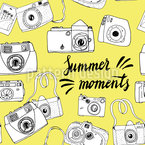 Moments of this Summer Seamless Vector Pattern Design