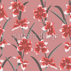 Narcissus Passion Seamless Vector Pattern Design