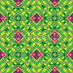 Traditionell Mexikanisch Nahtloses Vektormuster