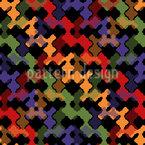 織りのストライプ シームレスなベクトルパターン設計