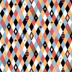 Artisten Rhombus Vektor Muster
