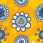 Flowers In Summer Pattern Design