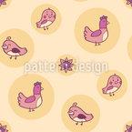 Huhn Und Küken Designmuster
