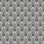 Art Deco Ogee Seamless Vector Pattern Design
