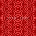 Schnörkel Mit Struktur Nahtloses Vektor Muster