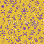 Summer Song Repeating Pattern