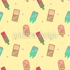 Funky Popsicles Seamless Vector Pattern Design