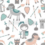 Little Knights Pattern Design