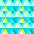 Disco Dreieck Nahtloses Muster
