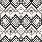 Zigzag Crossing Seamless Vector Pattern Design