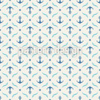High Sea Anchor Seamless Pattern