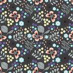 Schmetterling Mille Fleurs Nahtloses Muster