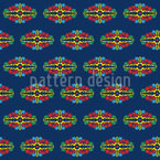 Grüsse aus Bali Vektor Muster