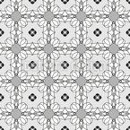 Net Of Flowers Vector Design