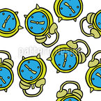 Alarm Clock Repeating Pattern