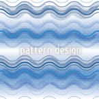 Gentle Waves Repeating Pattern
