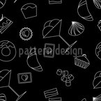 Passion For Pastry Seamless Vector Pattern Design
