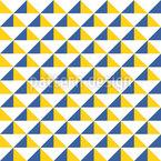 Dreieck Sgraffito Nahtloses Vektormuster