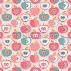 Apples Everywhere Seamless Pattern