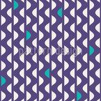 Wellen-Streifen Nahtloses Vektor Muster