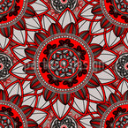 Mandala-Blüten Rapport