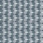 Formas de cristalinas Design de padrão vetorial sem costura