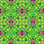 Mexikanisches Mosaik Nahtloses Vektormuster