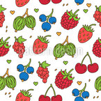 Summer Gift Seamless Vector Pattern Design