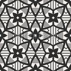Mosaik Blüte Nahtloses Vektormuster