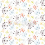 Stamen Seamless Vector Pattern Design