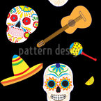 Typical Mexican Seamless Vector Pattern Design