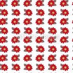 Floret Order Seamless Vector Pattern Design