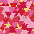 Dreieck Schichten Nahtloses Vektormuster