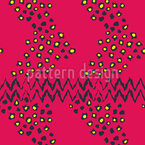 Cheetah And Chevron Seamless Vector Pattern Design