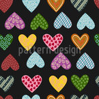 My Passion Seamless Vector Pattern Design