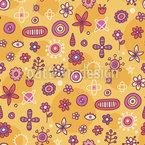 Blumen Zeichen Vektor Design