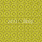 Asian Circle Grid Seamless Vector Pattern Design