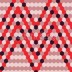 Bienenstock Chevrons Vektor Design