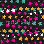 Alle Sterne Muster Design