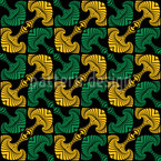 Celtic Anchors Seamless Vector Pattern