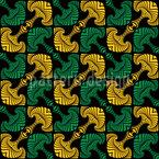 Keltische Anker Nahtloses Vektor Muster