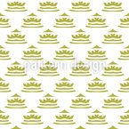 Coronet Seamless Vector Pattern Design