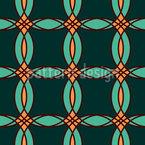オフセット円 シームレスなベクトルパターン設計