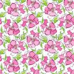 Natürliche Rosen Nahtloses Vektormuster