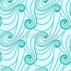 Kräuselnde Wellen Designmuster