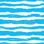 Sea Art Seamless Vector Pattern Design