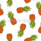 Sweet Pineapple Repeat Pattern