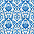 Renaissance Damask Seamless Vector Pattern Design