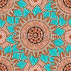 Lagunen Mandala Designmuster